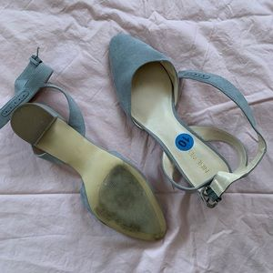 Grey Nine West Heels